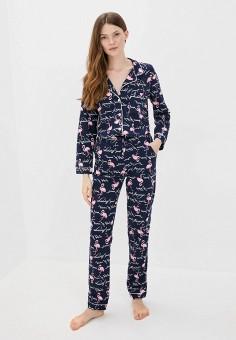 Пижама, Winzor, цвет: синий. Артикул: WI011EWJOJJ4. Одежда / Домашняя одежда