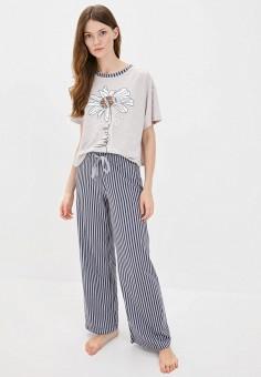 Пижама, Winzor, цвет: бежевый, серый. Артикул: WI011EWJOJL8. Одежда / Домашняя одежда / Пижамы