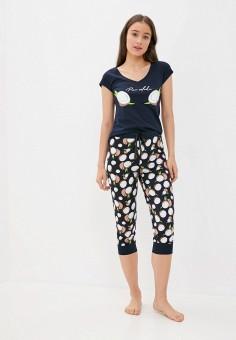 Пижама, Winzor, цвет: синий. Артикул: WI011EWJYCV4. Одежда / Домашняя одежда