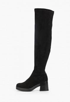 Ботфорты, Wilmar, цвет: черный. Артикул: WI064AWFTVX3. Обувь / Сапоги / Ботфорты