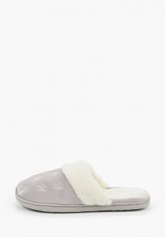 Тапочки, women'secret, цвет: серый. Артикул: WO004AWHUHW3. Обувь / Домашняя обувь