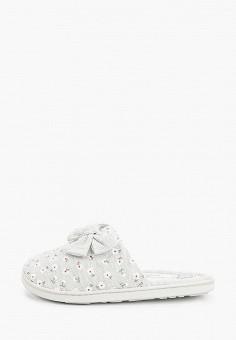 Тапочки, women'secret, цвет: серый. Артикул: WO004AWHUHW9. Обувь / Домашняя обувь