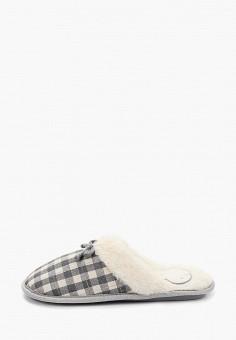 Тапочки, women'secret, цвет: серый. Артикул: WO004AWHUHX0. Обувь / Домашняя обувь