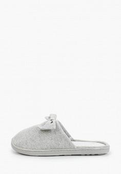 Тапочки, women'secret, цвет: серый. Артикул: WO004AWHUHX1. Обувь / Домашняя обувь