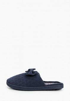 Тапочки, women'secret, цвет: синий. Артикул: WO004AWHUPS1. Обувь / Домашняя обувь