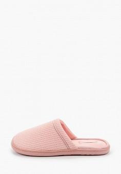 Тапочки, women'secret, цвет: розовый. Артикул: WO004AWHUPS3. Обувь / Домашняя обувь