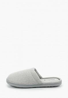 Тапочки, women'secret, цвет: серый. Артикул: WO004AWHUPS4. Обувь / Домашняя обувь