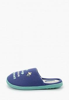 Тапочки, women'secret, цвет: синий. Артикул: WO004AWHUPS5. Обувь / Домашняя обувь