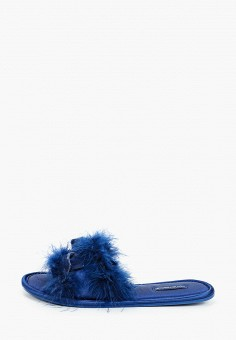 Тапочки, women'secret, цвет: синий. Артикул: WO004AWHUPS8. Обувь / Домашняя обувь