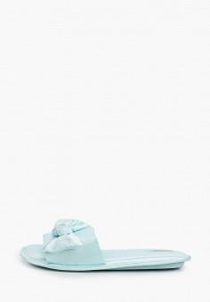 Тапочки, women'secret, цвет: голубой. Артикул: WO004AWHUPT0. Обувь / Домашняя обувь