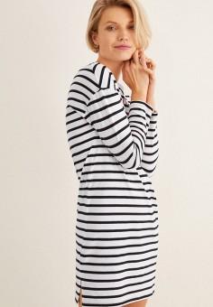 Платье домашнее, women'secret, цвет: белый. Артикул: WO004EWHWMD3. Одежда / Домашняя одежда