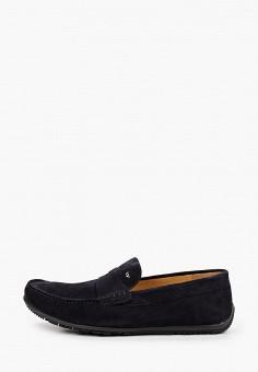 Мокасины, Wojas, цвет: синий. Артикул: WO009AMIGDC3. Обувь / Мокасины и топсайдеры