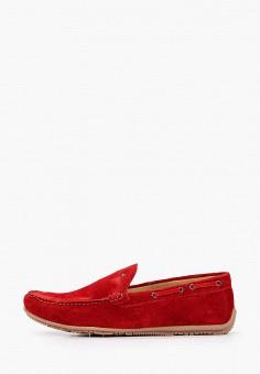 Мокасины, Wojas, цвет: бордовый. Артикул: WO009AMIGDC8. Обувь / Мокасины и топсайдеры