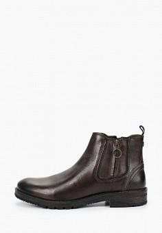 Ботинки, Wrangler, цвет: коричневый. Артикул: WR224AMGJJL9. Обувь / Ботинки / Высокие ботинки