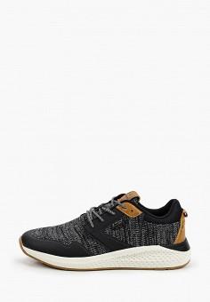 Кроссовки, Wrangler, цвет: черный. Артикул: WR224AMJAIU4.