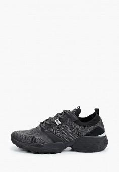 Кроссовки, Wrangler, цвет: черный. Артикул: WR224AMJAIV2.