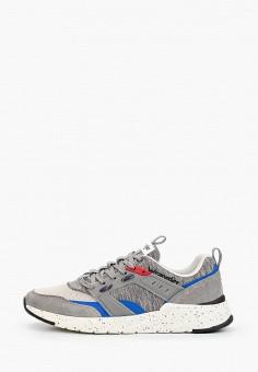 Кроссовки, Wrangler, цвет: серый. Артикул: WR224AMJAIV5. Обувь