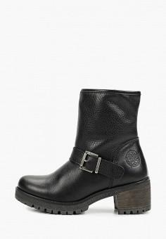 Полусапоги, Wrangler, цвет: черный. Артикул: WR224AWGSIQ8. Обувь / Сапоги / Полусапоги