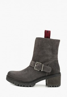 Полусапоги, Wrangler, цвет: серый. Артикул: WR224AWGSIR0. Обувь / Сапоги / Полусапоги