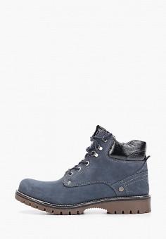 Ботинки, Wrangler, цвет: синий. Артикул: WR224AWGSLB7.