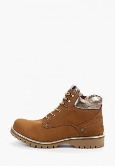 Ботинки, Wrangler, цвет: коричневый. Артикул: WR224AWGSLB9.