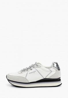 Кроссовки, Wrangler, цвет: белый. Артикул: WR224AWJAJC4.