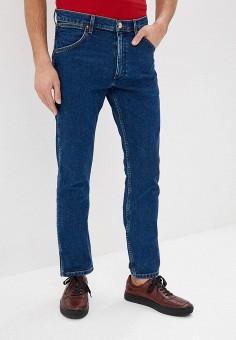 Джинсы, Wrangler, цвет: синий. Артикул: WR224EMDQRT1. Одежда / Джинсы / Прямые джинсы
