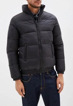 Куртка утепленная, Wrangler, цвет: черный. Артикул: WR224EMFQCV1. Одежда / Верхняя одежда / Демисезонные куртки
