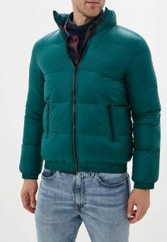 Куртка утепленная, Wrangler, цвет: зеленый. Артикул: WR224EMFQCV2.