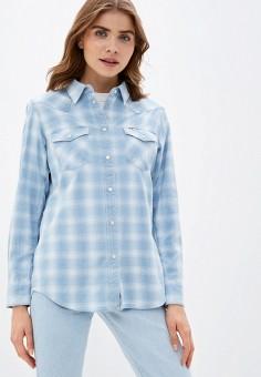 Рубашка, Wrangler, цвет: голубой. Артикул: WR224EWJOTT1.