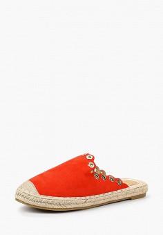 Эспадрильи, WS Shoes, цвет: красный. Артикул: WS002AWBRJF6. Обувь / Эспадрильи