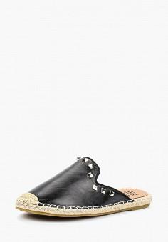 Эспадрильи, WS Shoes, цвет: черный. Артикул: WS002AWBRJH5. Обувь / Эспадрильи