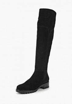 Ботфорты, Юничел, цвет: черный. Артикул: YU003AWCJIG1. Обувь / Сапоги / Ботфорты
