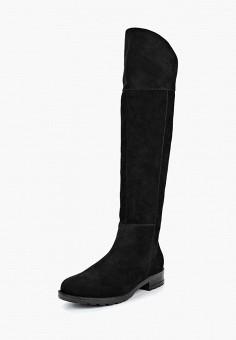 Ботфорты, Юничел, цвет: черный. Артикул: YU003AWCJIL0. Обувь / Сапоги / Ботфорты