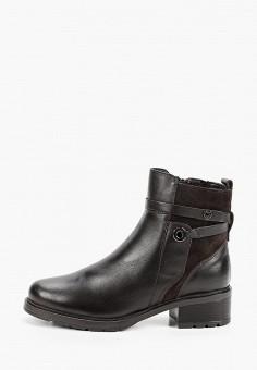 Полусапоги, Юничел, цвет: коричневый. Артикул: YU003AWGHDN2. Обувь / Сапоги / Полусапоги