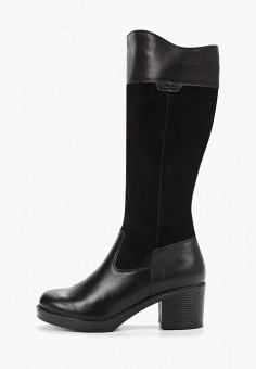 Сапоги, Юничел, цвет: черный. Артикул: YU003AWGHDP3. Обувь / Сапоги / Сапоги