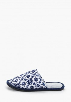 Тапочки, Юничел, цвет: синий. Артикул: YU003AWGHDR3. Обувь / Домашняя обувь