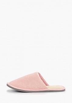 Тапочки, Юничел, цвет: розовый. Артикул: YU003AWGHDR4. Обувь / Домашняя обувь