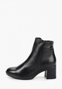 Ботильоны, Юничел, цвет: черный. Артикул: YU003AWKJWE5. Обувь / Ботильоны