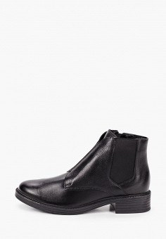 Ботинки, Юничел, цвет: черный. Артикул: YU003AWKJWF8. Обувь / Ботинки / Низкие ботинки
