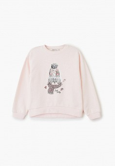 Свитшот, Zarina, цвет: розовый. Артикул: ZA004EGHEOU4.