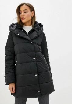 Куртка утепленная, Zarina, цвет: черный. Артикул: ZA004EWHBIG0.