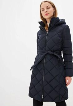 Куртка утепленная, Zarina, цвет: синий. Артикул: ZA004EWHBIH0.