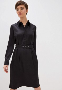 Платье, Zarina, цвет: черный. Артикул: ZA004EWHZOJ0.