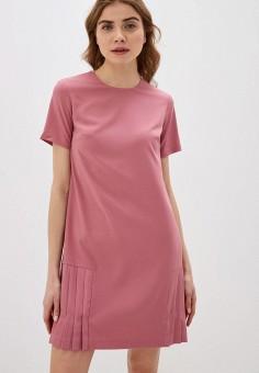 Платье, Zarina, цвет: розовый. Артикул: ZA004EWHZON1.
