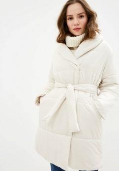 Куртка утепленная, Zarina, цвет: белый. Артикул: ZA004EWHZOQ5. Одежда / Верхняя одежда / Демисезонные куртки