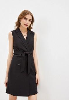 Платье, Zarina, цвет: черный. Артикул: ZA004EWHZOR0.
