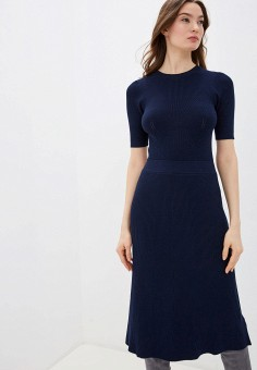 Платье, Zarina, цвет: синий. Артикул: ZA004EWHZOY2.