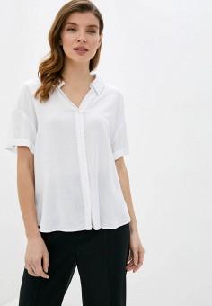 Блуза, Zarina, цвет: белый. Артикул: ZA004EWJEFM7.