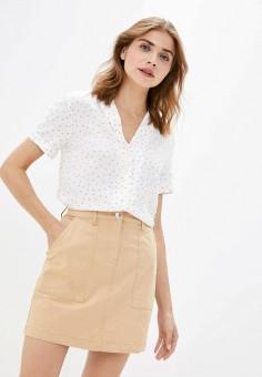 Блуза, Zarina, цвет: белый. Артикул: ZA004EWJEFQ3.